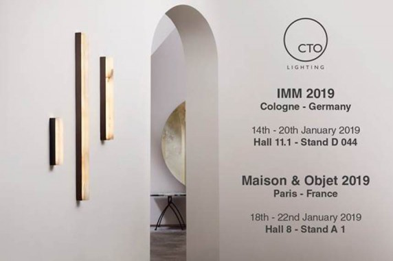 CTO LIGHTING @ Imm and Maison&Objet 2019