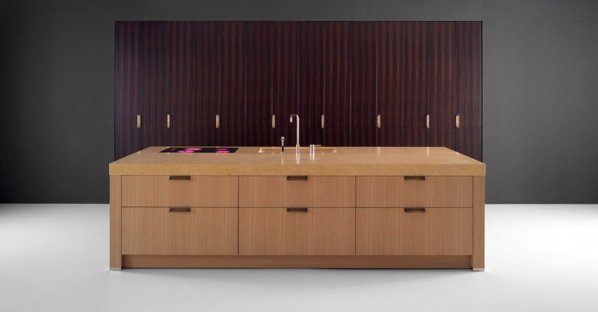 ABC: solutions for the kitchen with precious materials