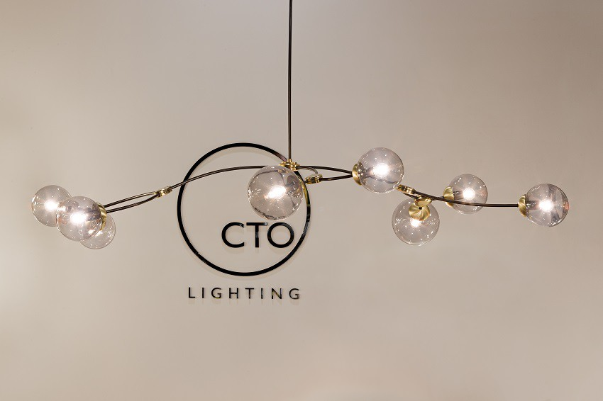 CTO Lighting: new lights Euroluce 2019